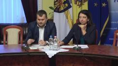 Declarațiile lui Ion Cebanu și Veronicăi Herța după ședința săptămânală a serviciilor primăriei Chișinău din 26 noiembrie 2018