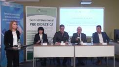 """Conferința de bilanț a Proiectului """"Parteneriate pentru calitatea și relevanța învățământului profesional tehnic în domeniul TIC din Republica Moldova"""""""