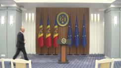 Declarația Prim-ministrului Republicii Moldova, Pavel Filip, după ședința privind situația din Ucraina