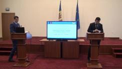Briefing de presă susținut de Ministrul Economiei și Infrastructurii al Republicii Moldova, Chiril Gaburici, privind pregătirea drumurilor naționale pentru sezonul de iarnă