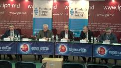 """Dezbateri publice cu tema """"Locul Parlamentului de legislatura a XX-a în viața societății și în istoria parlamentarismului moldovenesc"""""""