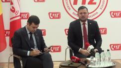 Ședința Clubului de presă cu privire la bilanțul de activitate al Serviciului Național Unic pentru Apelurile de Urgență 112