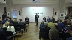 Ceremonia dedicată celei de-a 25-a aniversări de la introducerea leului moldovenesc