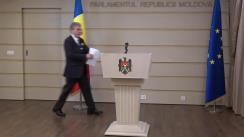 Declarațiile lui Mihai Ghimpu în timpul ședinței Parlamentului Republicii Moldova din 29 noiembrie 2018