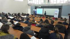Lecție publică susținută de Dr. Iurie Ciocan dedicată zilei tânărului alegător