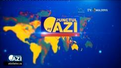 """Emisiunea """"Punctul pe AZi"""". Invitat - Excelența sa, Daniel Ioniță, ambasadorul României în Republica Moldova. Retransmisiune TVR Moldova"""