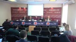 """Conferința de presă cu tema """"Prezentarea publica a rezultatelor sondajului sociologic Barometrul Opiniei Publice, noiembrie 2018"""""""