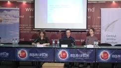 """Lansarea """"Studiului național de audiență a mass-mediei"""", realizat în perioada 17 octombrie – 11 noiembrie 2018, de compania Magenta Consulting, la comanda CJI"""