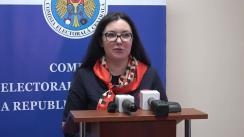 Declarație de presă susținută de Alina Russu după ședința Comisiei Electorale Centrale din 5 decembrie 2018