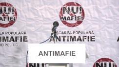 """Conferință de presă organizată de Partidul Mișcarea Populară Antimafie cu tema """"Rolul și locul Mișcării Populare Antimafie în campania pentru alegerile parlamentare"""""""