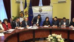 Ședința săptămânală a serviciilor primăriei Chișinău din 10 decembrie 2018