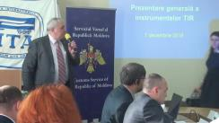 Evenimentul de prezentare a versiunii modernizate a aplicației electronice de declarare prealabilă TIR-EPD (TIR – Electronic Pre-Declaration) a Uniunii Internaționale a Transportului Rutier