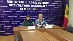 Conferință de presă organizată de Ministerul Agriculturii, Dezvoltării Regionale și Mediului privind inițierea campaniei de informare privind colectarea deșeurilor de echipamente electrice și electronice