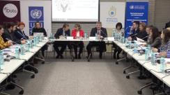 """Evenimentul de prezentare a Studiului """"Percepții asupra drepturilor omului în Republica Moldova"""""""