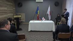 Ceremonia de semnare a contractelor de grant pentru implementarea proiectelor de securitate umană Kusanone