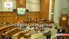 Ședința în plen a Camerei Deputaților României din 10 decembrie 2018