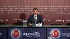 """Conferința de presă susținută de Valeriu Munteanu cu tema """"Despre refuzul Partidului Liberal de a participa în alegeri alături de Blocul ACUM și deciziile lui politice de viitor"""""""