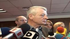 Declarațiile de presă ale primarului general, Sorin Oprescu, privind pierderile în capitală după protest