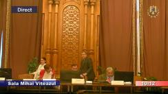 Ședința comisiei juridice, de disciplină și imunități a Camerei Deputaților României din 11 decembrie 2018