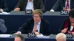 Votul raportului referitor la aplicarea integrală a dispozițiilor acquis-ului Schengen în Bulgaria și în România