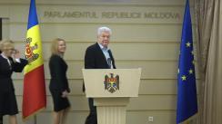 Declarația fracțiunii Partidului Comuniștilor din Republica Moldova în timpul ședinței Parlamentului Republicii Moldova din 14 decembrie 2018