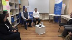 """HuB Electoral 2.0 cu tema """"Administrarea alegerilor în campania electorală. Experiența Letoniei"""", invitatul special fiind Președintele CEC din Letonia, Arnis Cimdars"""