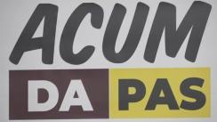 Semnarea Acordului de constituire a Blocului electoral ACUM Platforma DA PAS