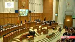Ședința comună a Camerei Deputaților și Senatului României din 20 decembrie 2018