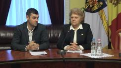 Conferință de presă susținută de consilierii PSRM din Consiliul Municipal Chișinău după ședința săptămânală a serviciilor primăriei Chișinău din 17 decembrie 2018