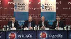 """Dezbateri publice cu tema """"Anul 2018: realizări, nereușite și provocări în procesul de integrare europeană a Republicii Moldova"""""""