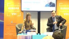 """Prelegere cu tema """"Fenomenul Fake News"""" organizată de Reprezentanța Comisiei Europene în România, Facultatea de Comunicare și Relații Publice (SNSPA) și Center for EU Communication Studies"""