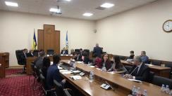 Ședința Curții de Conturi de examinare a Raportului auditului conformității declarării salariale și a plăților la Bugetul Public Național