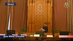 Ședința comisiei juridice, de disciplină și imunități a Camerei Deputaților României din 18 decembrie 2018