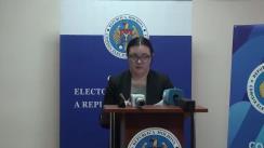 Declarațiile Alinei Russu după ședința Comisiei Electorale Centrale din 18 decembrie 2018