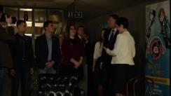 """Întâlnirea Președintelui României, Klaus Iohannis, cu premianții competiției """"Civic Avengers"""""""