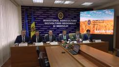 Conferință de presă organizată de Ministerul Agriculturii, Dezvoltării Regionale și Mediului de prezentare a celor mai importante realizări ale ministerului în anul 2018