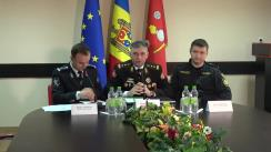 """Conferință de presă cu tema """"Măsurile de asigurare a securității și ordinii publice în perioada sărbătorilor de iarnă"""""""