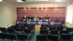 """Conferința de presă organizată de Coaliția Vocea Romilor cu tema """"Prezentarea studiului cu privire la implementarea Hotărârii Guvernului nr.734"""""""