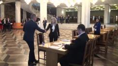 Candidații electorali ai Partidului Democrat din Moldova depun personal declarația privind consimțămîntul de a candida la alegerile parlamentare din 24 februarie 2019