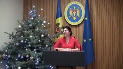 Declarațiile Silviei Radu după ședința Guvernului Republicii Moldova din 26 decembrie 2018