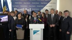 """Conferința de presă la tema """"Cum va participa """"Partidul Nostru"""" la următoarele alegeri parlamentare?"""""""