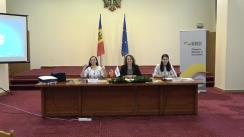 """Briefing de presă cu privire la prezentarea rezultatelor concursului """"Moldova sunt EU"""""""