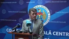 Declarațiile lui Iurie Ciocan după ședința Comisiei Electorale Centrale din 2 ianuarie 2019