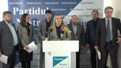 """Conferința de presă la tema """"Guvernarea din Moldova intenționează să-l rețină pe Renato Usatîi în Europa în cadrul unui nou dosar penal fabricat și sa excludă candidații """"Partidului Nostru"""" din alegerile parlamentare din 24 februarie"""""""