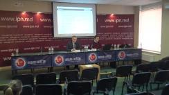 """Conferința de presă organizată de ADEPT cu tema """"Lansarea noii versiuni a site-ului Alegeri în Moldova"""""""