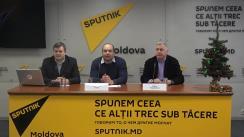"""Conferința de presă cu tema """"Anul politic 2019: Ce se așteaptă în Moldova"""""""