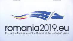 Conferință de presă comună susținută de Președintele României, Klaus Iohannis, și Președintele Comisiei Europene, Jean-Claude Juncker
