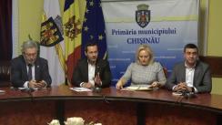 Ședință de lucru convocată de Primarul general interimar al capitalei, Ruslan Codreanu, cu participarea serviciilor municipale responsabile de deszăpezire