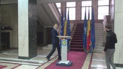 Declarație de presă susținută de directorul general al Direcției Generale de Pașapoarte, chestor de poliție Mirel Toancă, despre noile tipuri de pașapoarte simple electronice și pașapoarte simple temporare