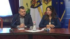 Declarațiile lui Ion Cebanu și Veronica Herța după ședința săptămânală a serviciilor primăriei Chișinău din 14 ianuarie 2019
